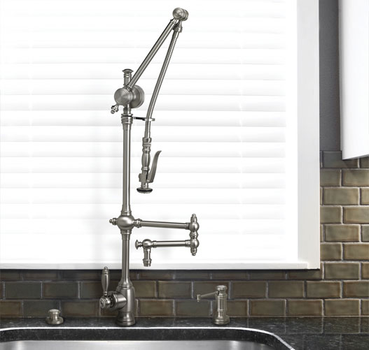 Waterstone Gantry Traditional Pulldown Faucet
