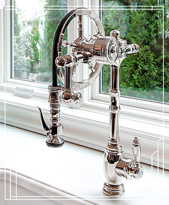 Waterstone The Wheel Pulldown Faucet 5100