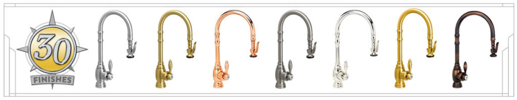 Waterstone 30 faucet finishes