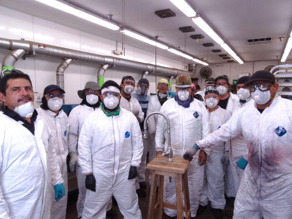 Waterstone polishing team