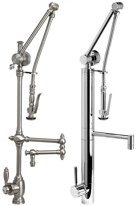 Waterstone traditional contemporary Gantry faucets