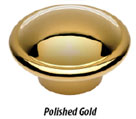 Waterstone polished gold finish