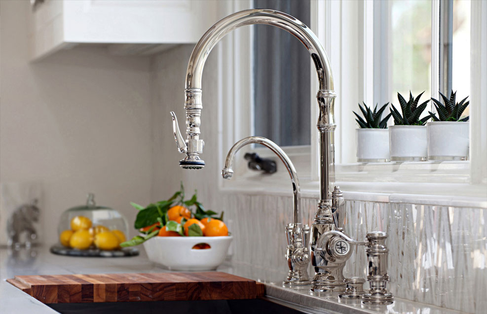 Waterstone Adds a Traditional Style Pulldown Faucet ...