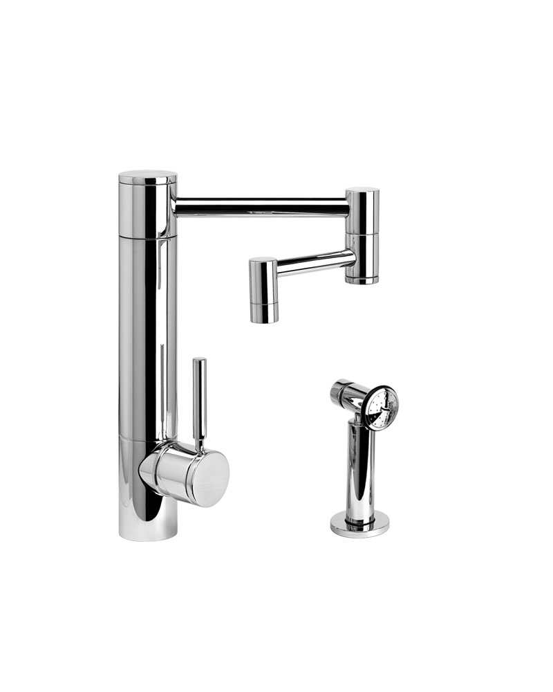 towson handles articulating spout waterstone lever bridge kitchen articulated faucet