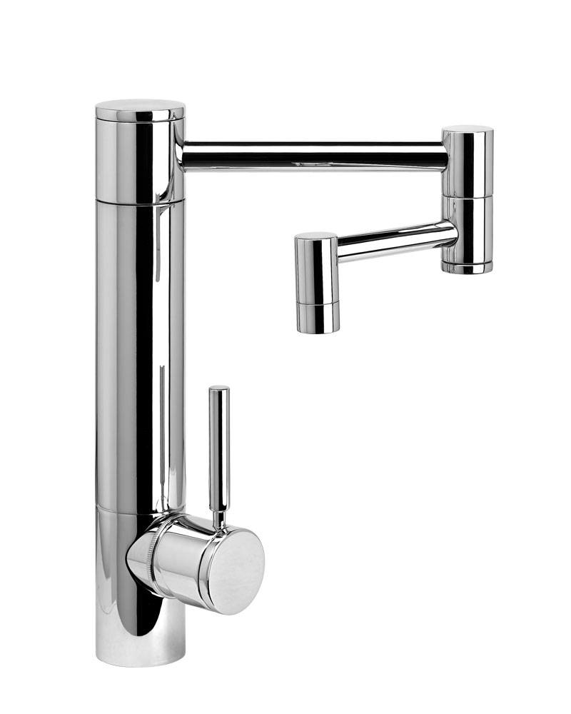 articulating kitchen faucet waterstone hunley kitchen faucet w 12 quot articulated spout 10182
