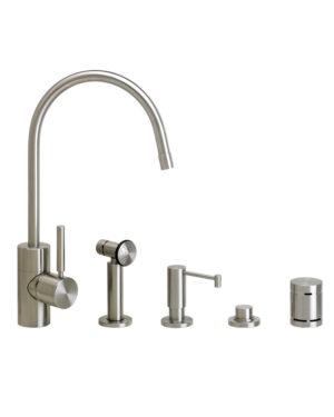 Parche Kitchen Faucet - 4pc. Suite