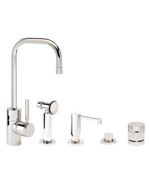 Fulton Prep Faucet - 4pc. Suite
