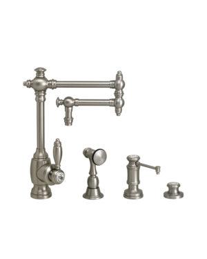 """Towson 12"""" Kitchen Faucet - 3pc. Suite"""