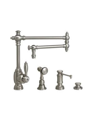 """Towson 18"""" Kitchen Faucet - 3pc. Suite"""