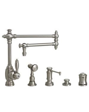 """Towson 18"""" Kitchen Faucet - 4pc. Suite"""