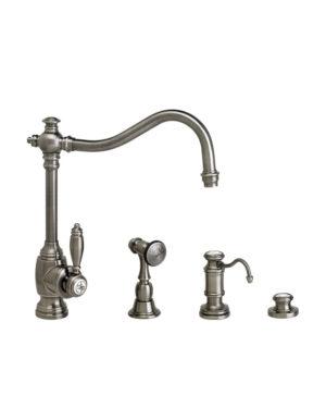 Waterstone Annapolis Kitchen Faucet - 3pc. Suite