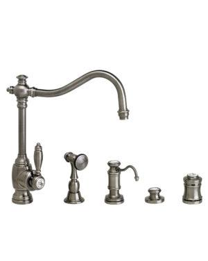 Waterstone Annapolis Kitchen Faucet - 4pc. Suite