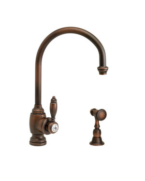Hampton Kitchen Faucet w/ Side Spray