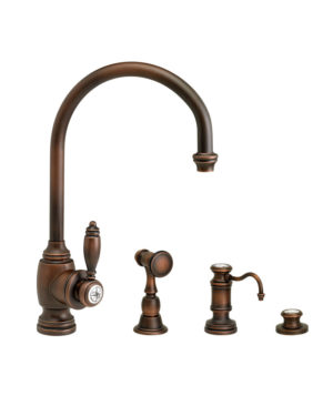Hampton Kitchen Faucet - 3pc. Suite