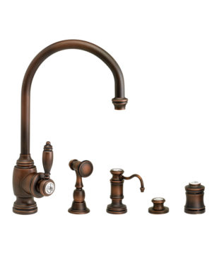 Hampton Kitchen Faucet - 4pc. Suite