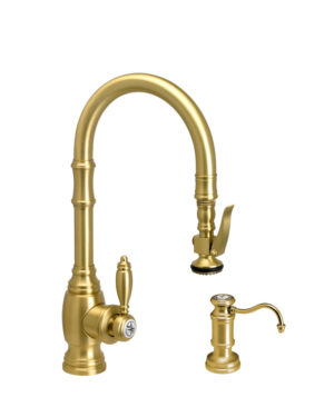Traditional PLP Prep Size Pull Down Faucet - 2pc Suite
