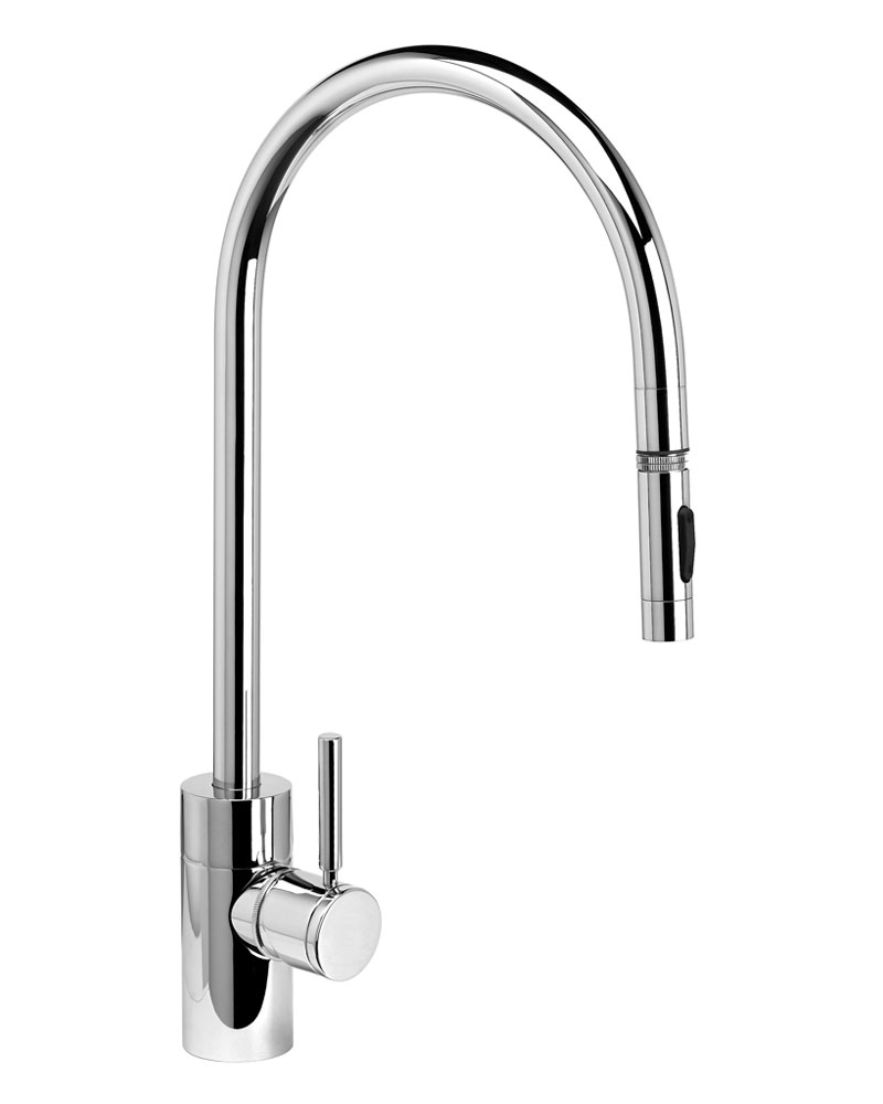 Contemporary PLP Extended Reach Pull Down Faucet 5300