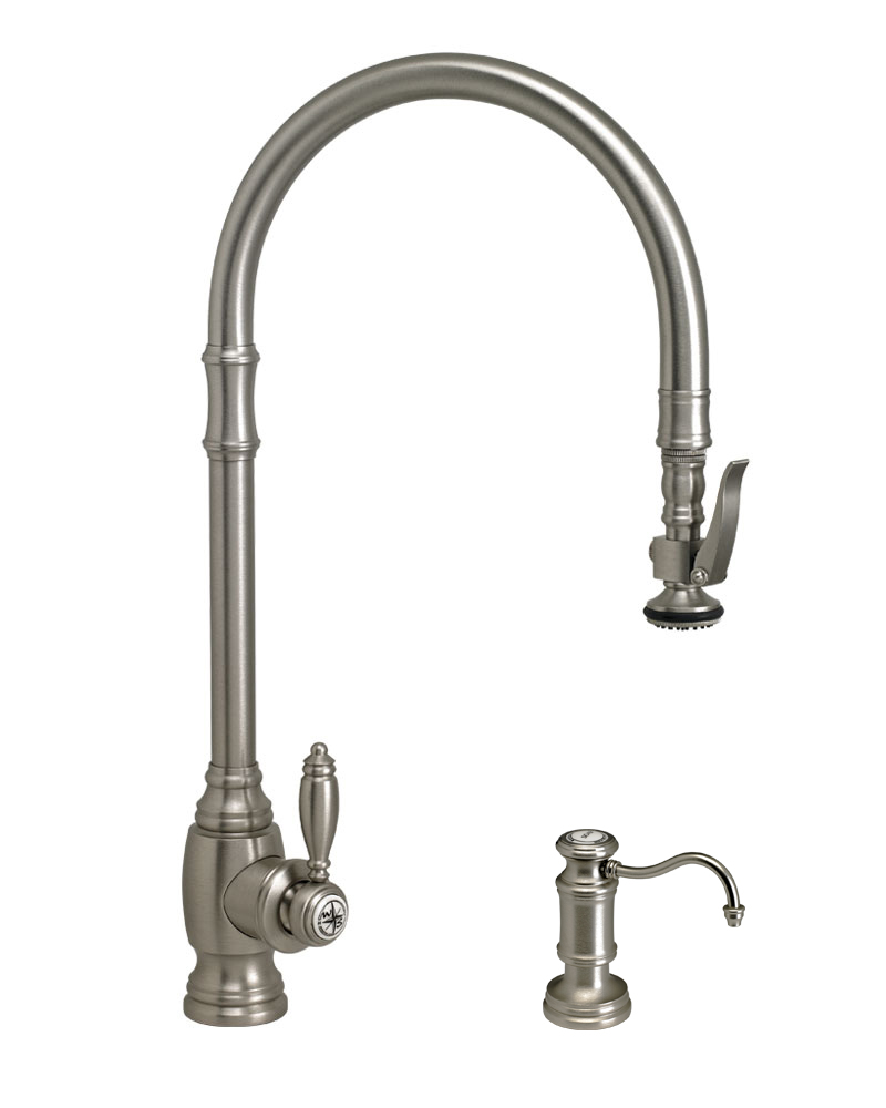 Waterstone Traditional Extended Reach Plp Pulldown Faucet