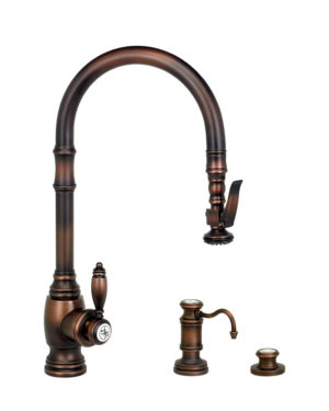 Traditional PLP Pull Down Faucet - 3pc. Suite