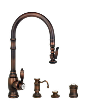Traditional PLP Pull Down Faucet - 4pc. Suite