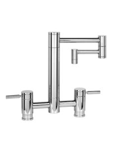 "Waterstone Hunley 12"" Bridge Faucet 7600-12"