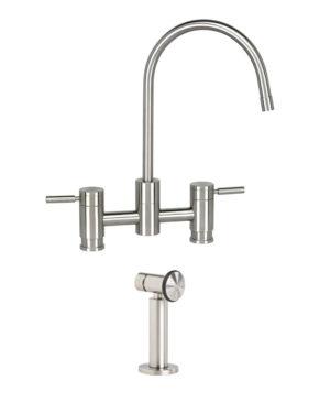 Parche Bridge Faucet w/ Side Spray