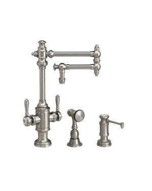 """Towson 12"""" Two Handle Kitchen Faucet - 2pc. Suite"""