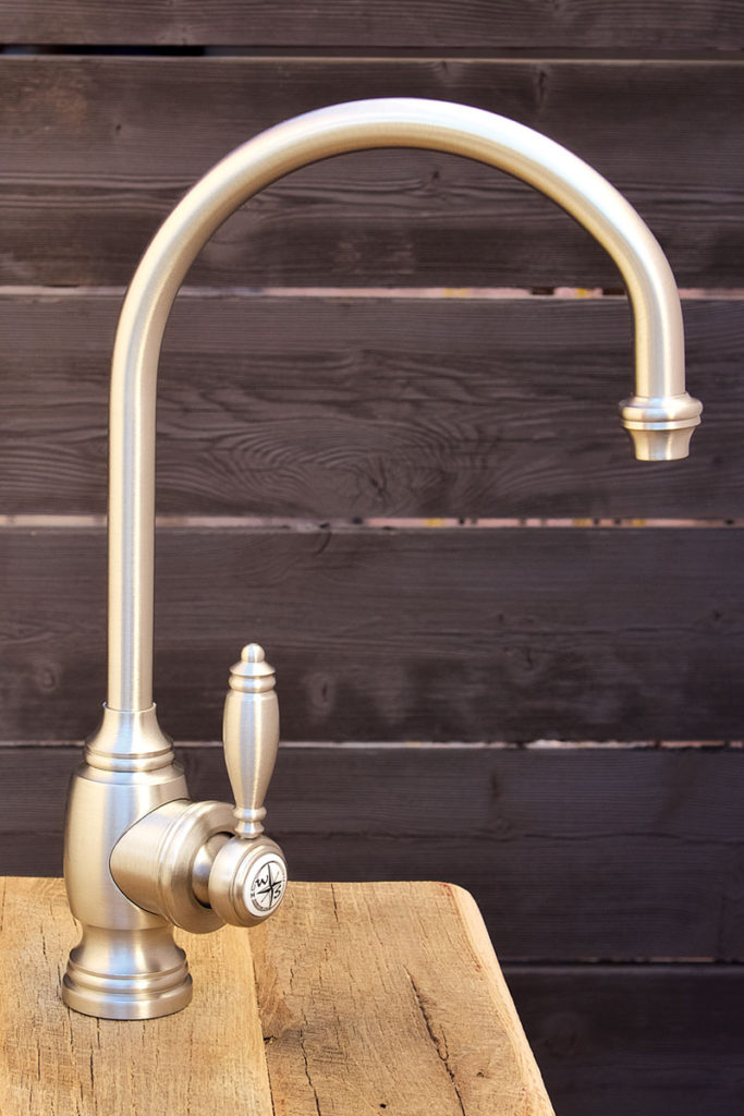 with warticulated bar crafted sinks w gallery spout of artisan single faucets kitchen sink waterstone towson articulated picture faucet handle