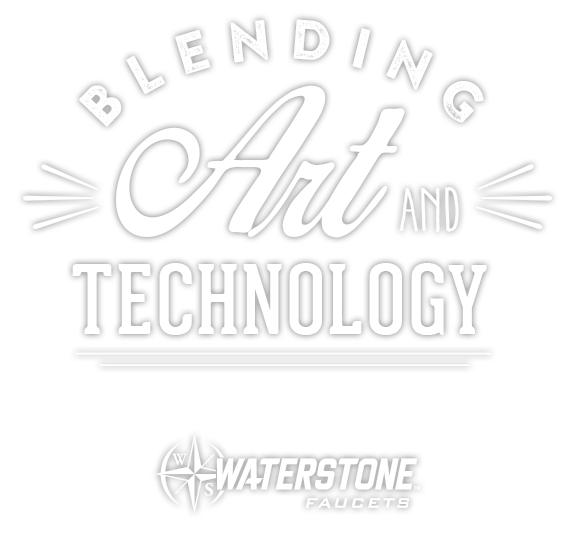 Waterstone Blend Art and Technology