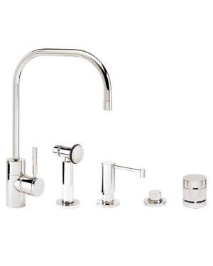 Fulton Kitchen Faucet - 4pc. Suite 3825-4