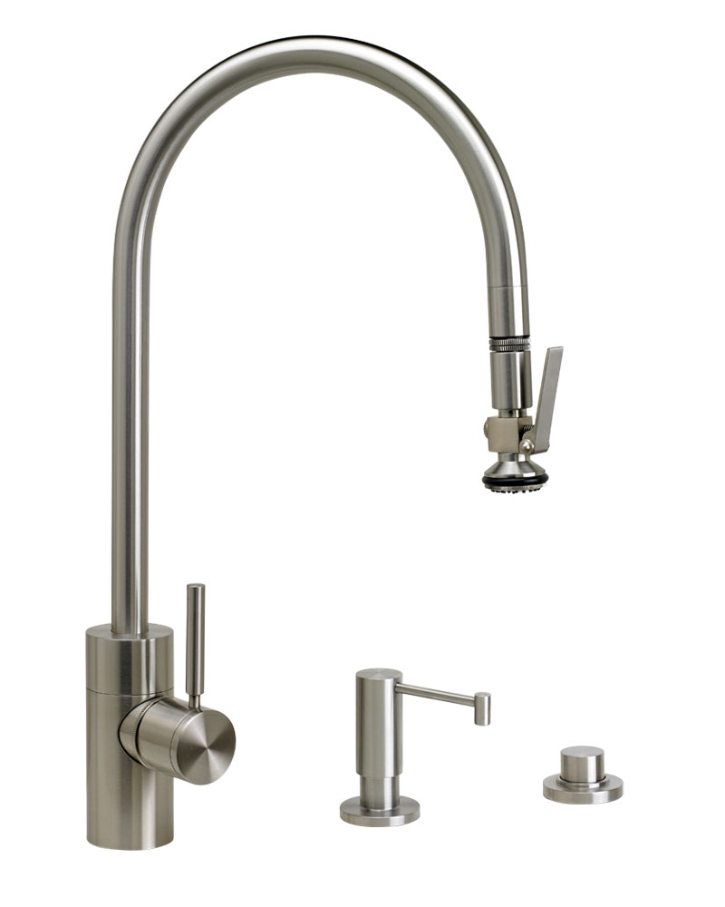 Waterstone Contemporary PLP Pulldown Faucet Suite 5700-3
