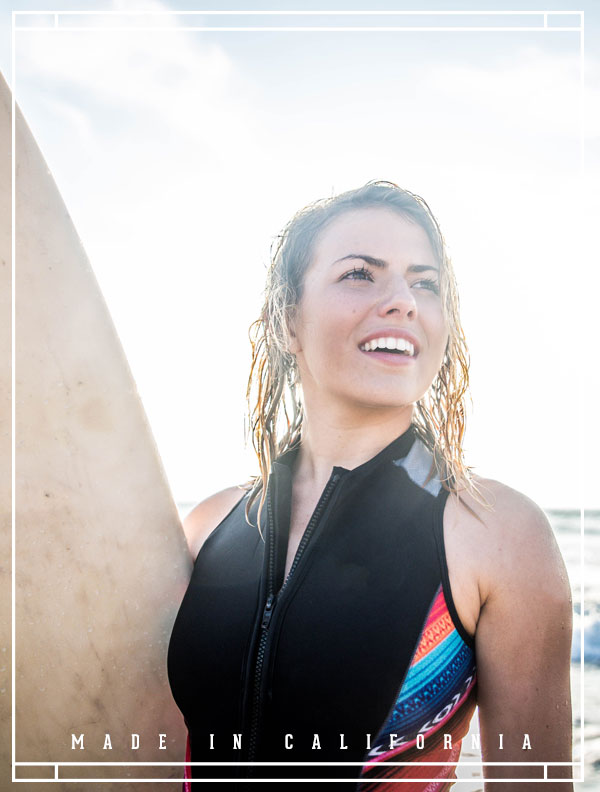 Waterstone California surfer