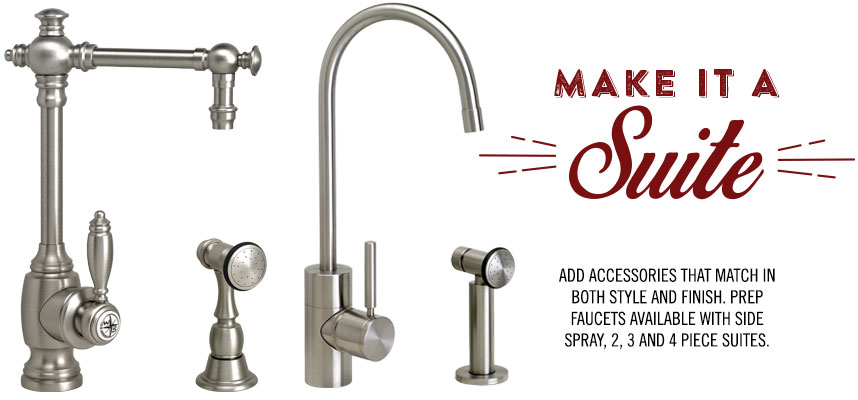 Waterstone Prep Faucets