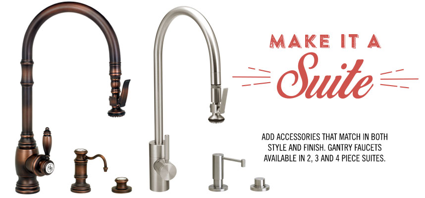 Waterstone Pulldown Faucet Suite