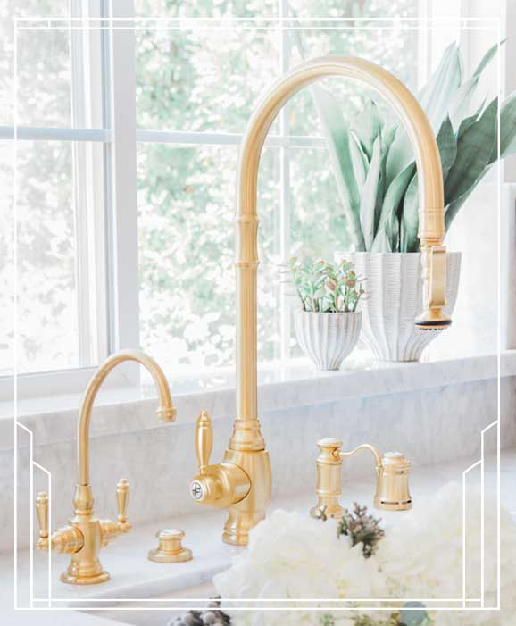 Waterstone High-End Luxury Kitchen Faucets | Made in the USA