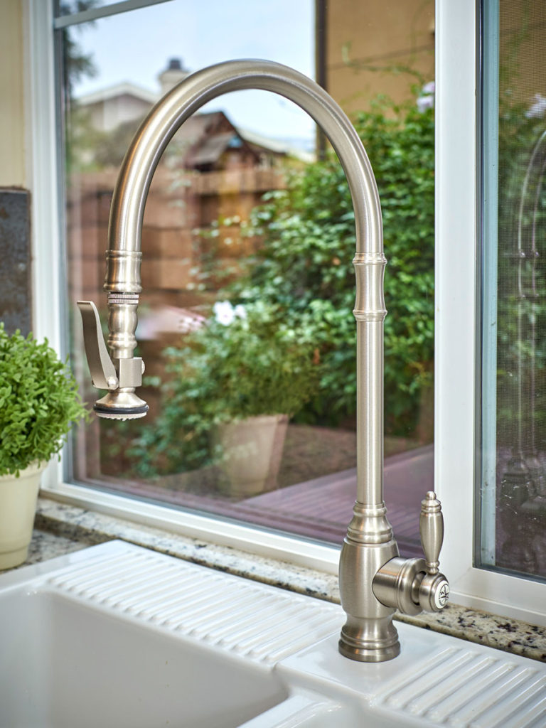 Waterstone Traditional Extended Reach PLP Pulldown Faucet - 5500