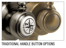 Waterstone faucet button options