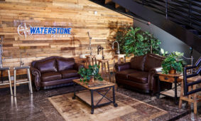 Waterstone Faucets lobby