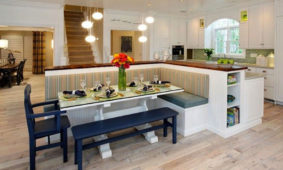 kitchen trends bench seating