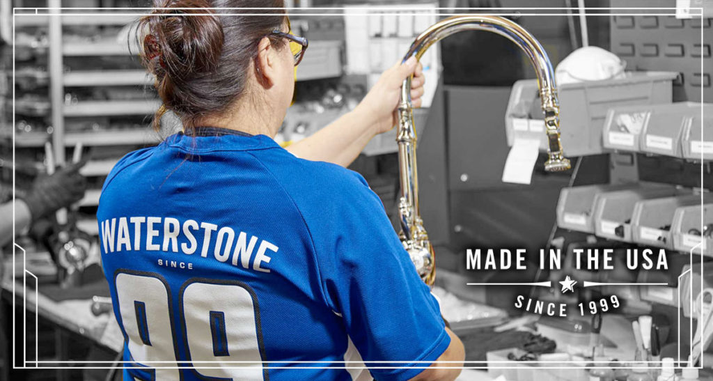 Waterstone faucets made in the usa