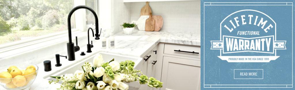 Waterstone Faucets lifetime warranty