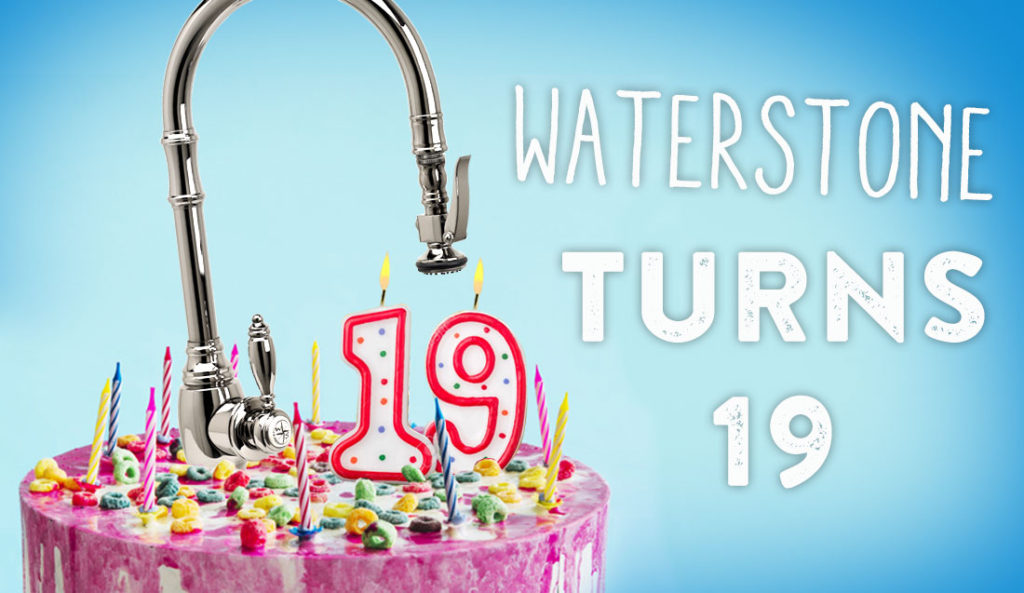 Waterstone Turns 19!