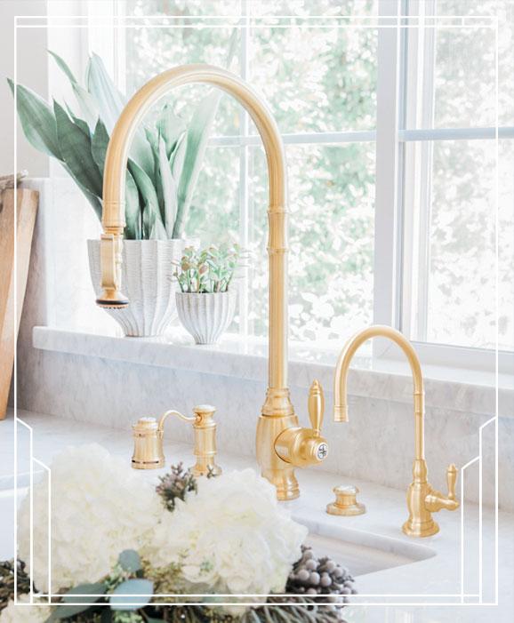 Waterstone Pulldown Faucet Nicole Davis Design