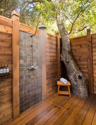 Outdoors Showers Starry Calm Oasis Or Cold Water Coffin