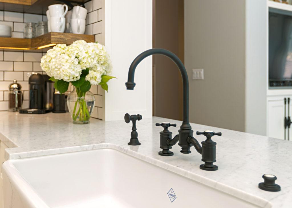 Shop HAMPTON BRIDGE FAUCET – CROSS HANDLES from Waterstone Faucets on Openhaus