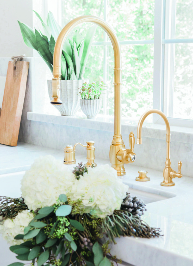 Waterstone PLP Pulldown Faucet 5600 - Satin Brass