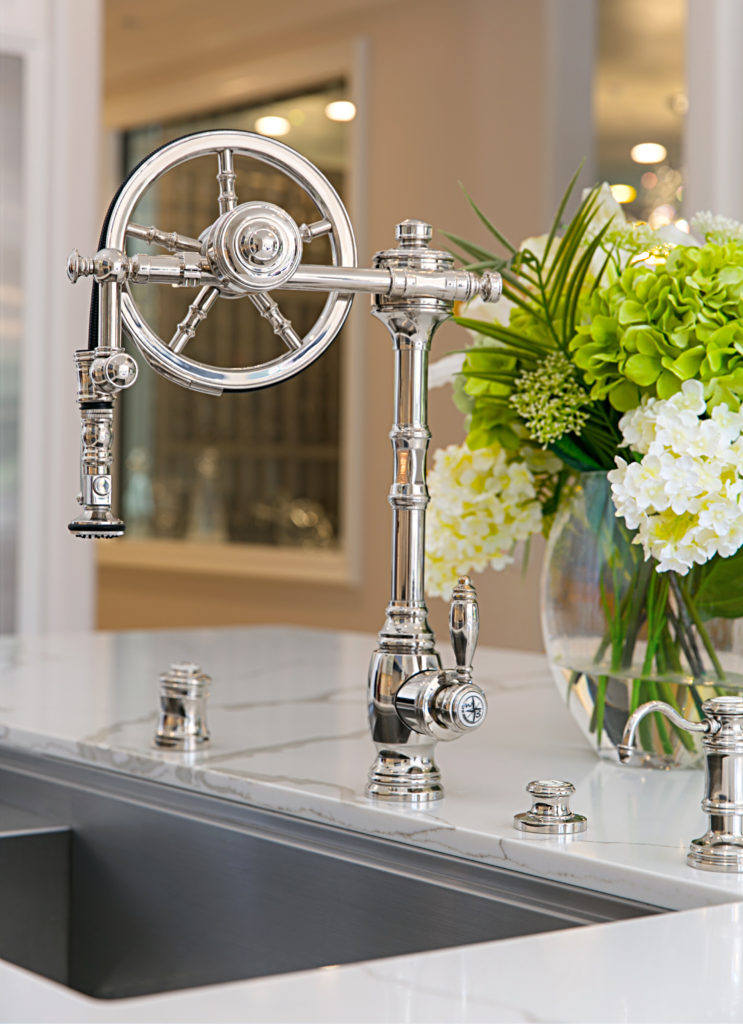 Waterstone Wheel Faucet 5100 - Chrome