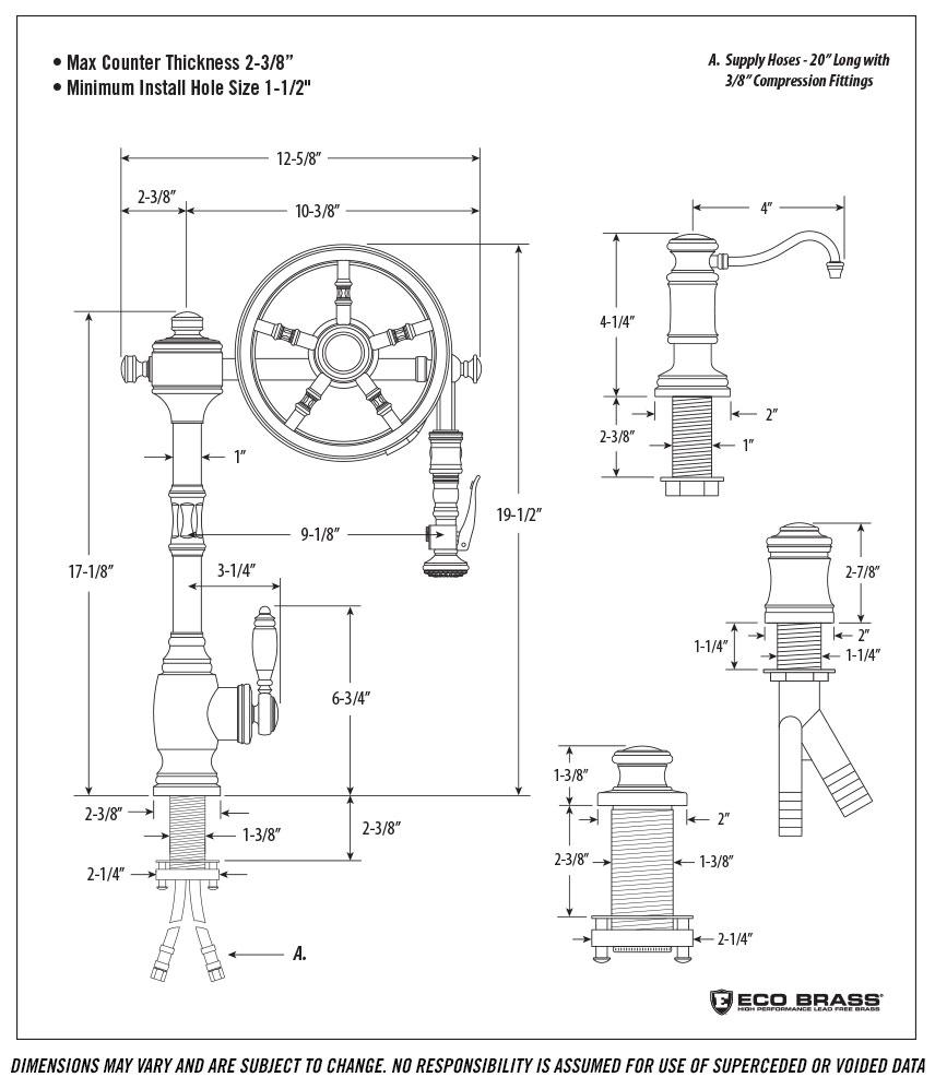 Waterstone 5100-4 Spec
