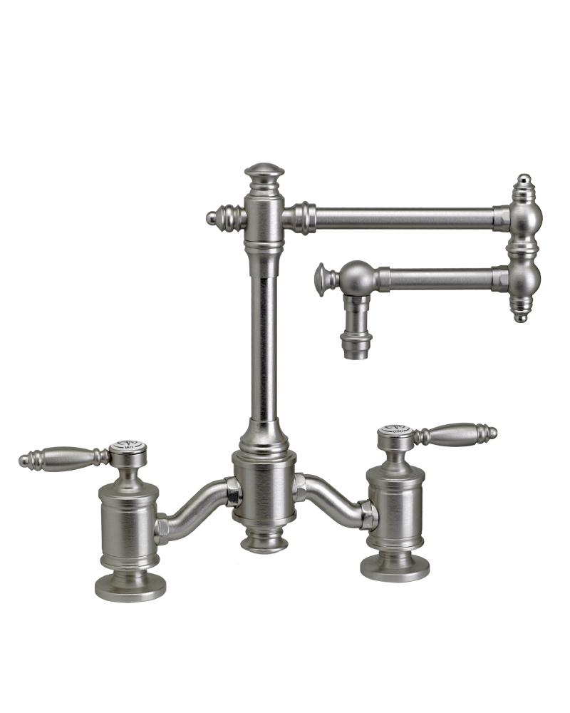 """Towson Bridge Faucet - 12"""" Articulated Spout - 6100-12"""