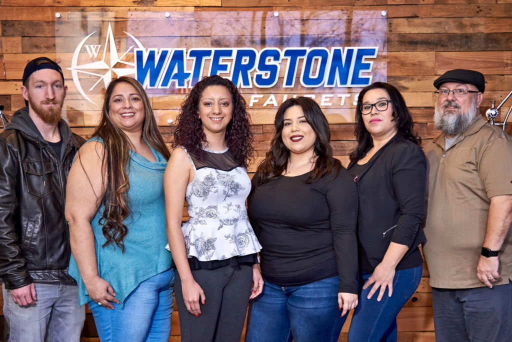 Waterstone production team